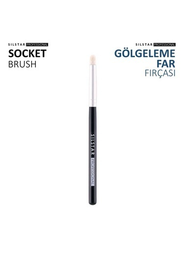 Silstar Socket Brush - Kalem Far Fırçası Renksiz